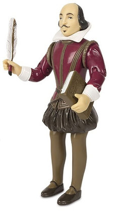 William Shakespeare - Action Figure - Archie McPhee