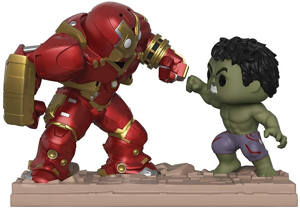 Hulk vs Hulkbuster- Movie Moment - Pop Funko
