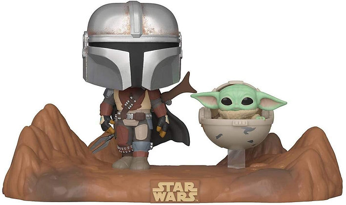 The Mandalorian with The child - Star Wars The Mandalorian -Pop Funko