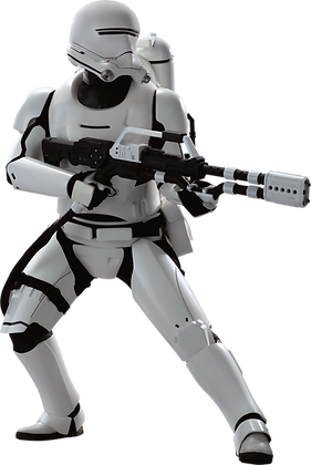 FlameTrooper 1:6 Hot Toys Star Wars The Force Awakens