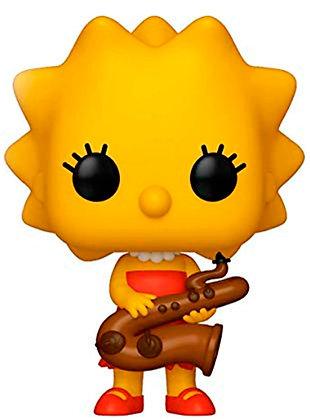 Lisa Simpson - The Simpsons - Pop Funko