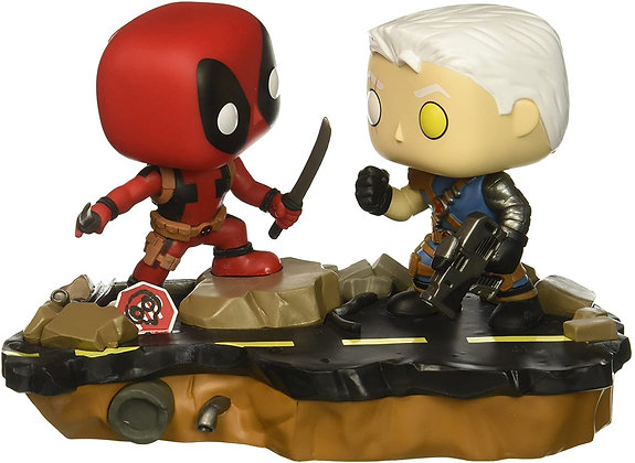 Deadpool vs Cable - Movie Moment - Pop Funko
