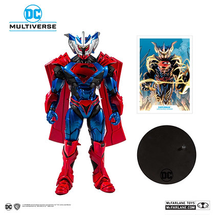 Superman  Unchained Armor - Dc Comic - McFarlane