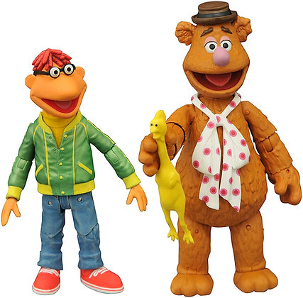 Scooter & Fozzie - Muppets - Select