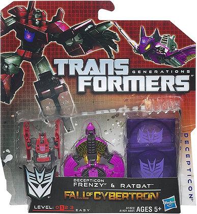 Frenzy & Ratbat Decepticon - Transformers  Fall of Cybertron - Hasbro
