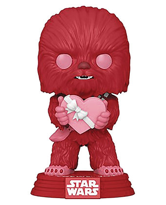 Chewbacca Valentine`s Day - Star Wars - Pop Funko