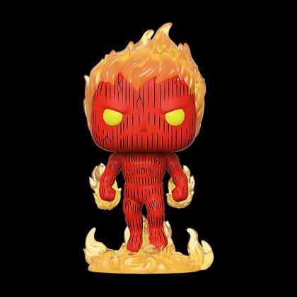 Human Torch - Fantastic Four - Pop Funko