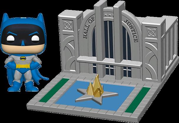 Batman with Hall of Justice  - Batman - Pop Funko