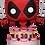 Thumbnail: Deadpool in Cake 30th - Marvel - Funko Pop