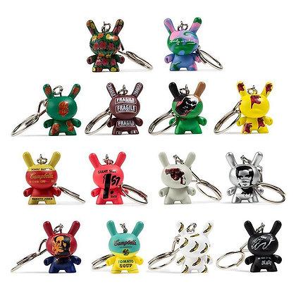 Dunny Keychain - Andy Warhol - Kidrobot