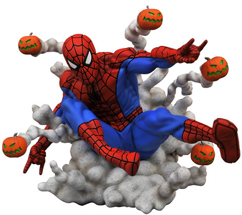 Spiderman  Pumpkin - Gallery  - Diamond Select