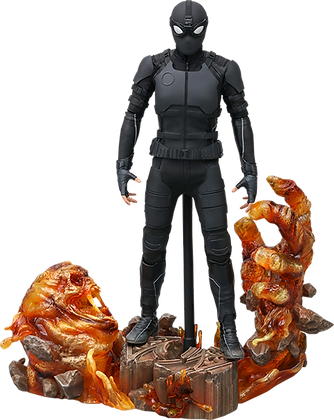 Spider-Man (Stealth Suit) Dulexe 1/6 - Spider-Man Far From Home - Hot Toys
