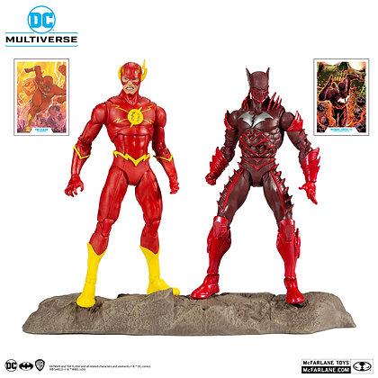 The Flash and Batman Earth - 52  - Dc Comic -  McFarlane