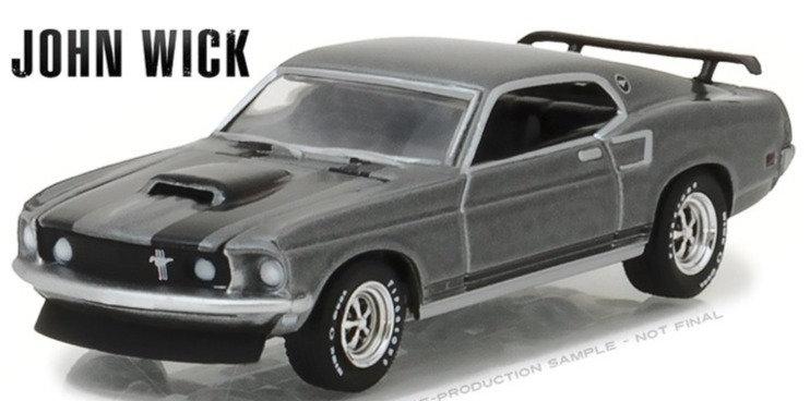John Wick - 1969 Ford Mustang BOSS 429 - GreenLight