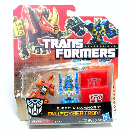 Eject & Ramhorn - Transformers Fall of Cybertron - hasbro