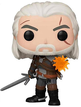 Geralt Igni (Special Edition) - The Witcher III - Pop Funko