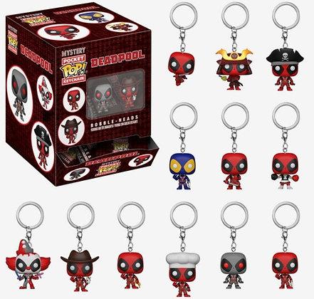 Deadpool Blind Gag Mystery Keychain - Marvel - Funko