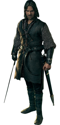 Aragorn at Helm's Deep 1/6 - Lord of the Ring -  Asmus Collectible Toys
