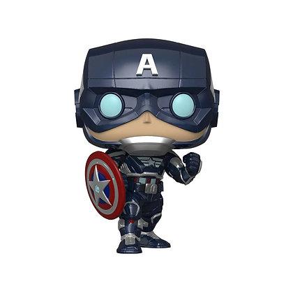 Captain America - avengers Game Verse - Pop Funko