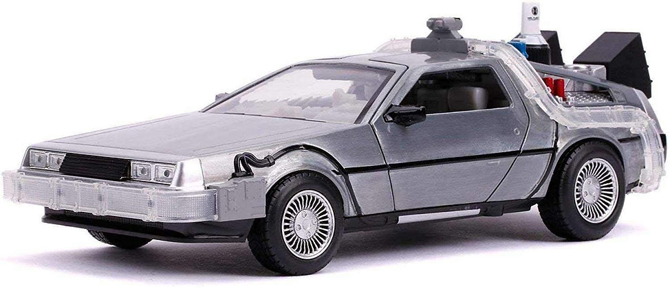 Delorian Time Machine - Back to the Future Part 2 - Yada