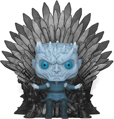 Night King with Throne  - Game of Throne - Pop Funko