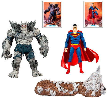 Superman VS Devastator - DC Multiverse - McFarlane