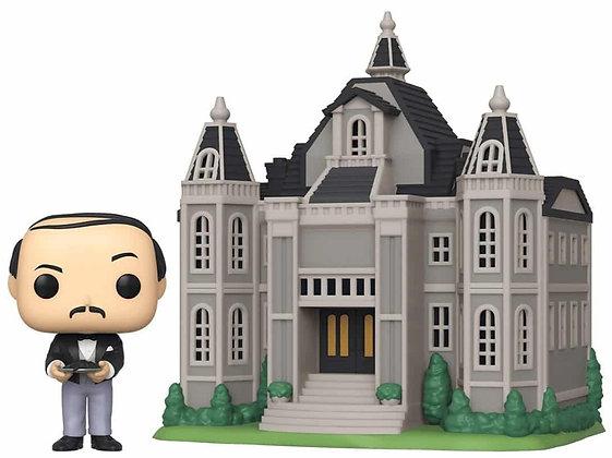 Alfred  with  Wayne Mansion - Batman - Pop Funko
