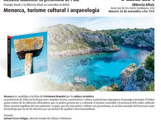 """Debat """"Menorca, turisme cultural i arqueologia"""" amb la participació d'Antoni Nicolau"""