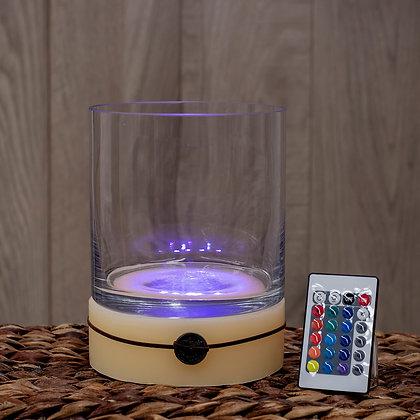 Base Circular con LED