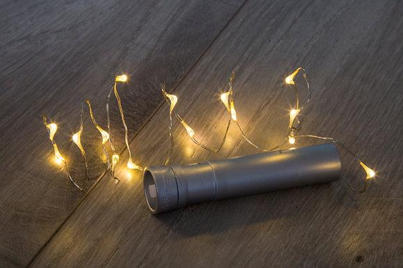 Corcho con Serie de Luces LED