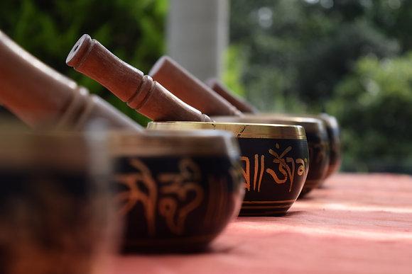 Set de Cuencos Tibetanos Singing Bowl (4 Piezas)