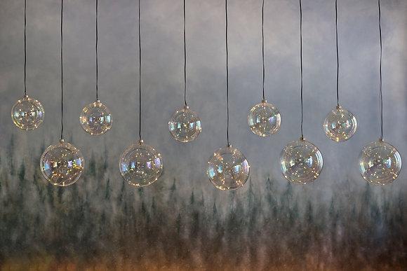 Esferas de Cristal con LED