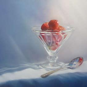 Strawberries & Glass, Julie Parker