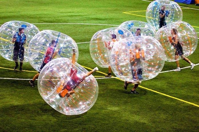 Bubble-Football-Team building Hvar