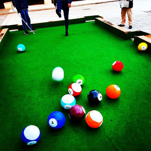 Billard football Hvar