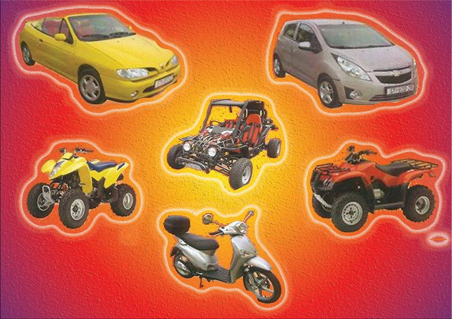 Rent a Car Buggy Scooter Quad on Hvar