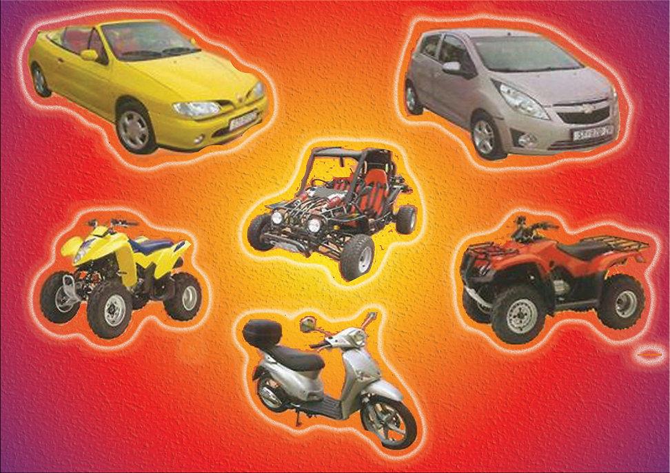 Rent-a Car Scooter Buggy or Quad on Hvar Island