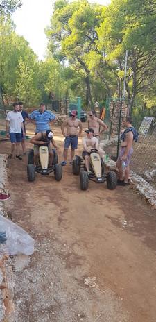 Pedal go karts -team building Hvar