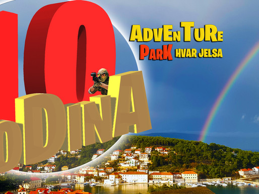 10 Godina Adventure park Hvar Jelsa