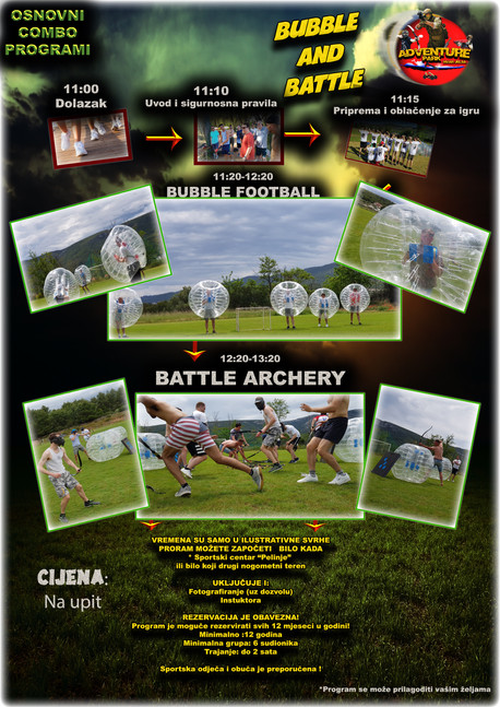 Bubble fooball i Battle Archery