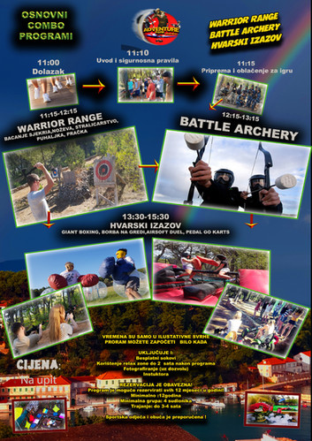 Warrior range Battle Archery i Hvarski izazov