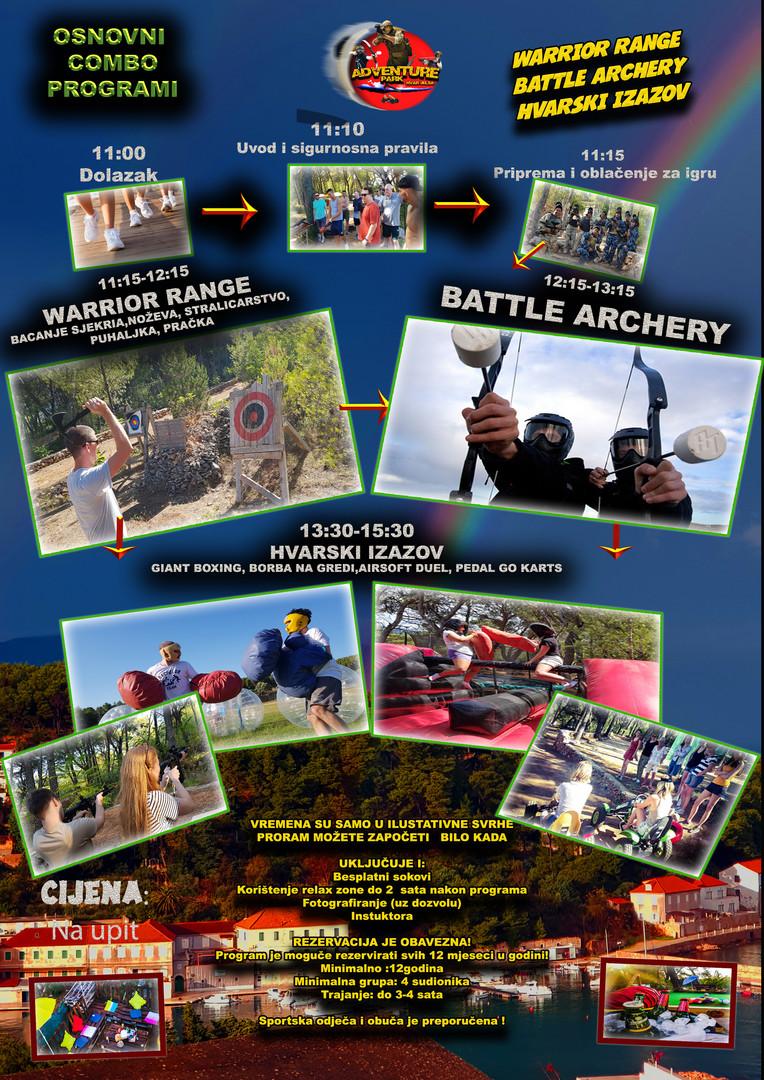 Warrior range Battle Archery i Hvarski izazov