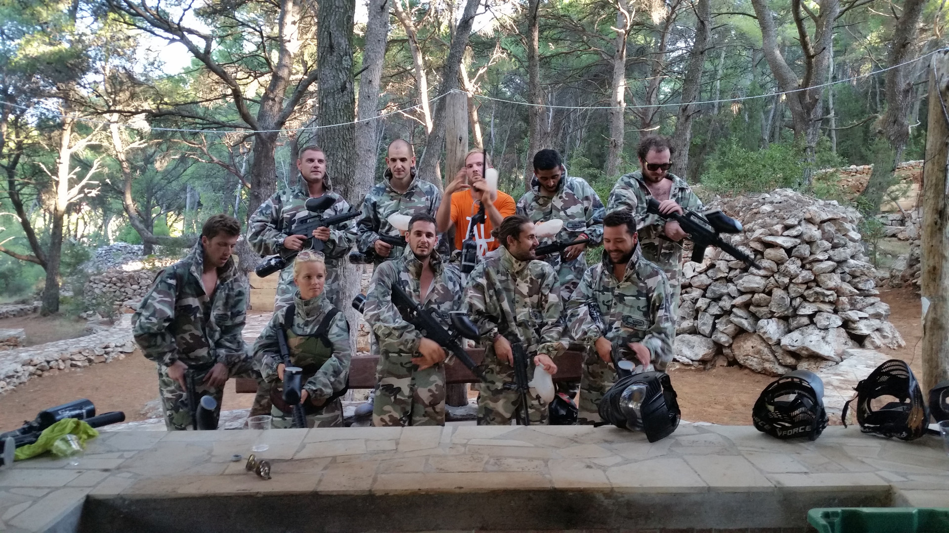 Paintball Team building Dalmacija