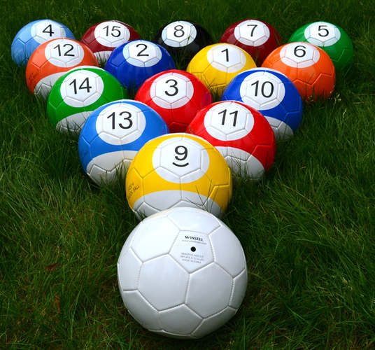 Footpool balls Croatia