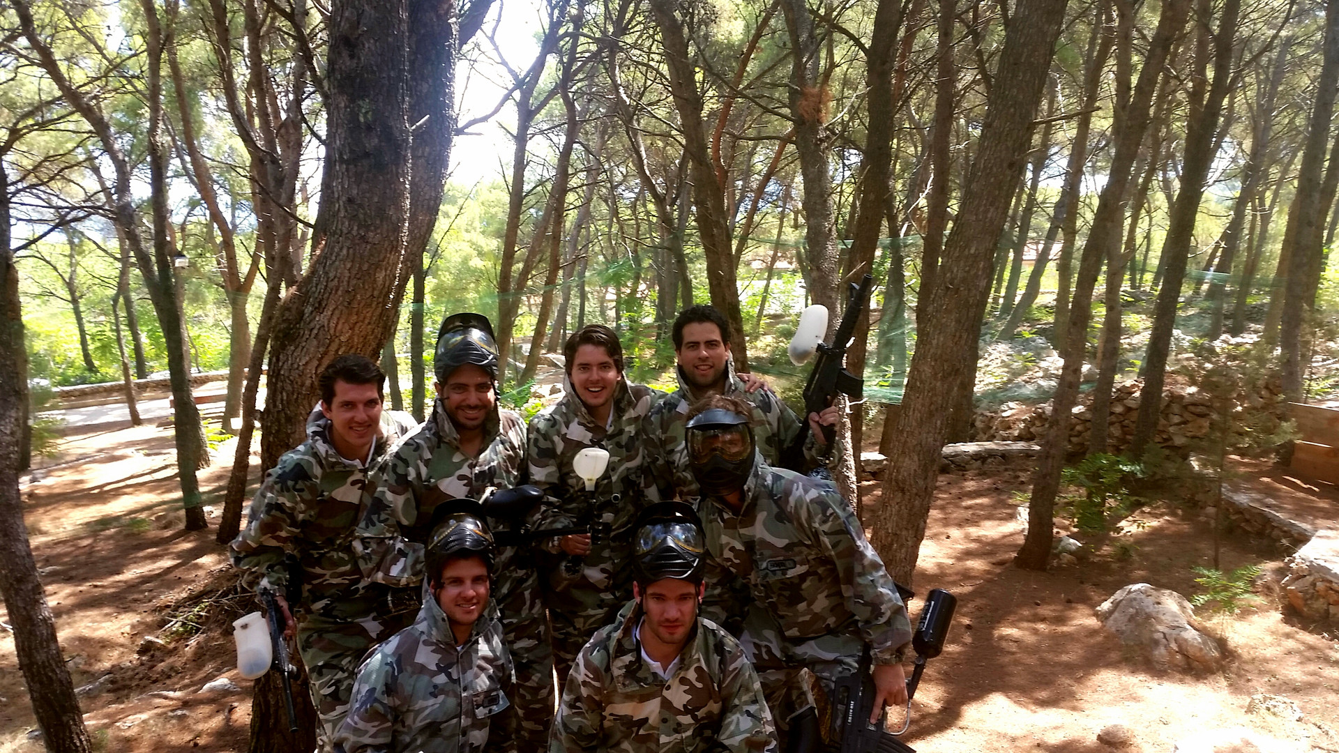 Paintball team Croatia