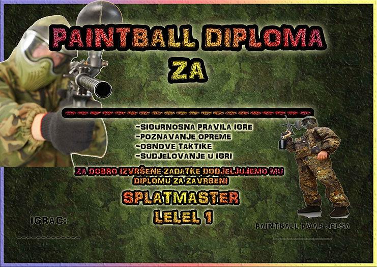 Splatmaster diploma