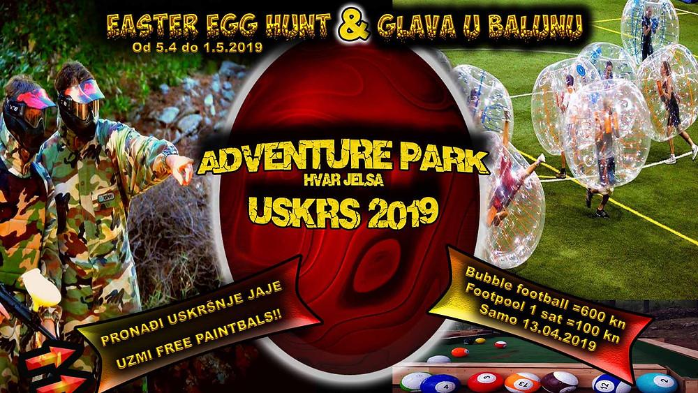 Event i aktivnosti na otoku Hvaru U jelsiza uskrs 2019