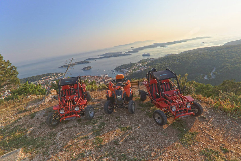 Adventure Day tour Hvar island with Buggy and Quads