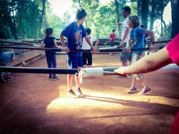 Human table football- Football activities hvar island