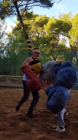 Giant boxing Croatia